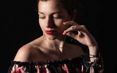 Portrait en studio photo