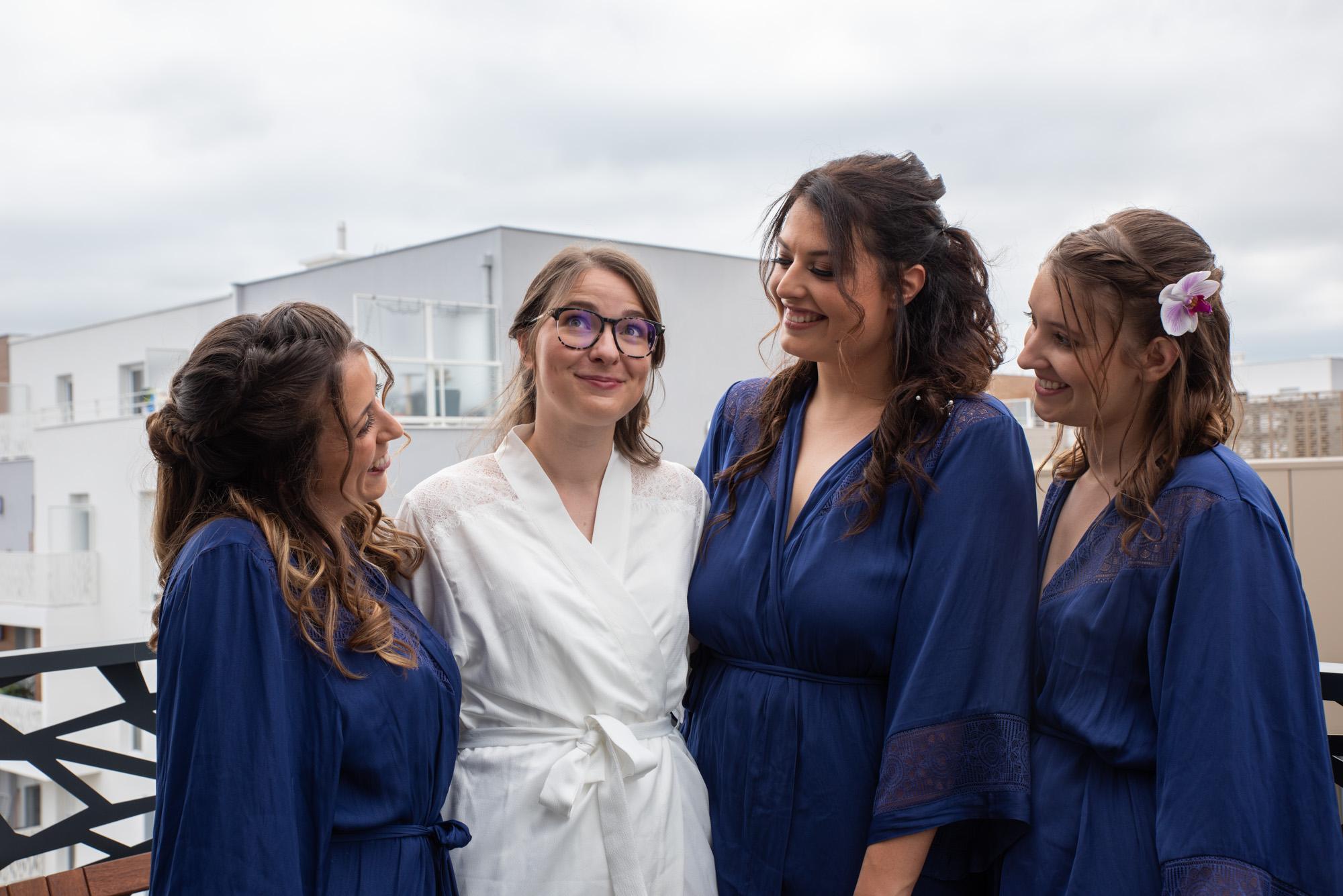 Demoiselles d'honneur mariage idf