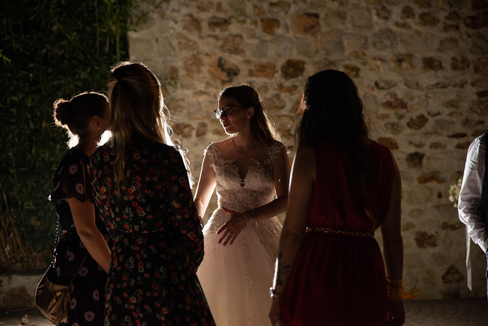 Photo soirée extérieur mariage ile-de-france