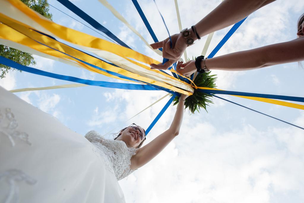 Photographe mariage bouquet Essonne