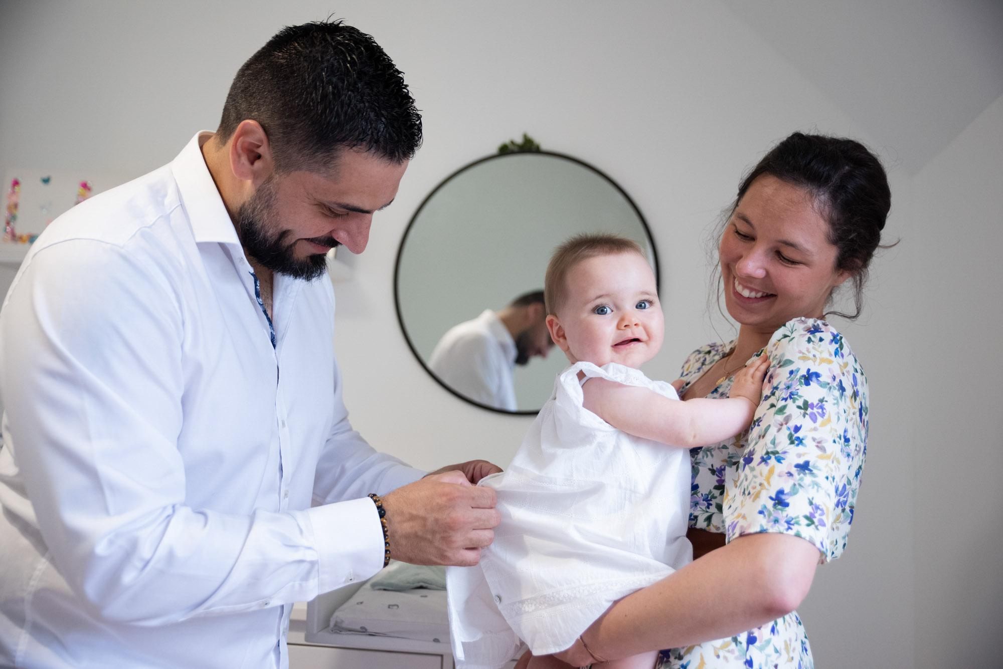 Photo préparatif baptême 91