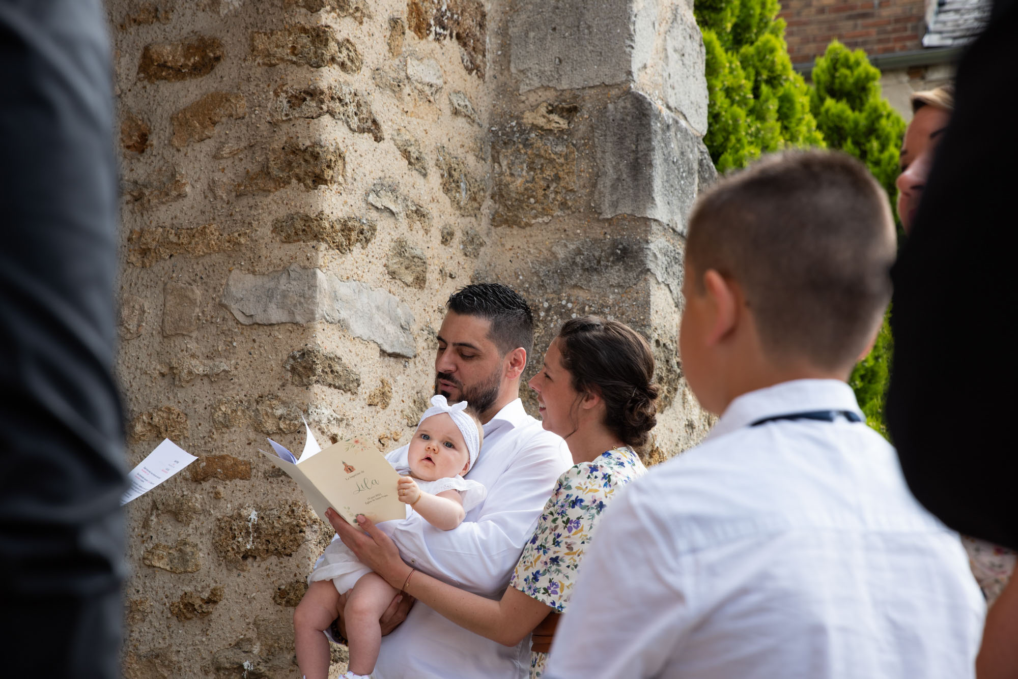 photographe baptême saint-vrain