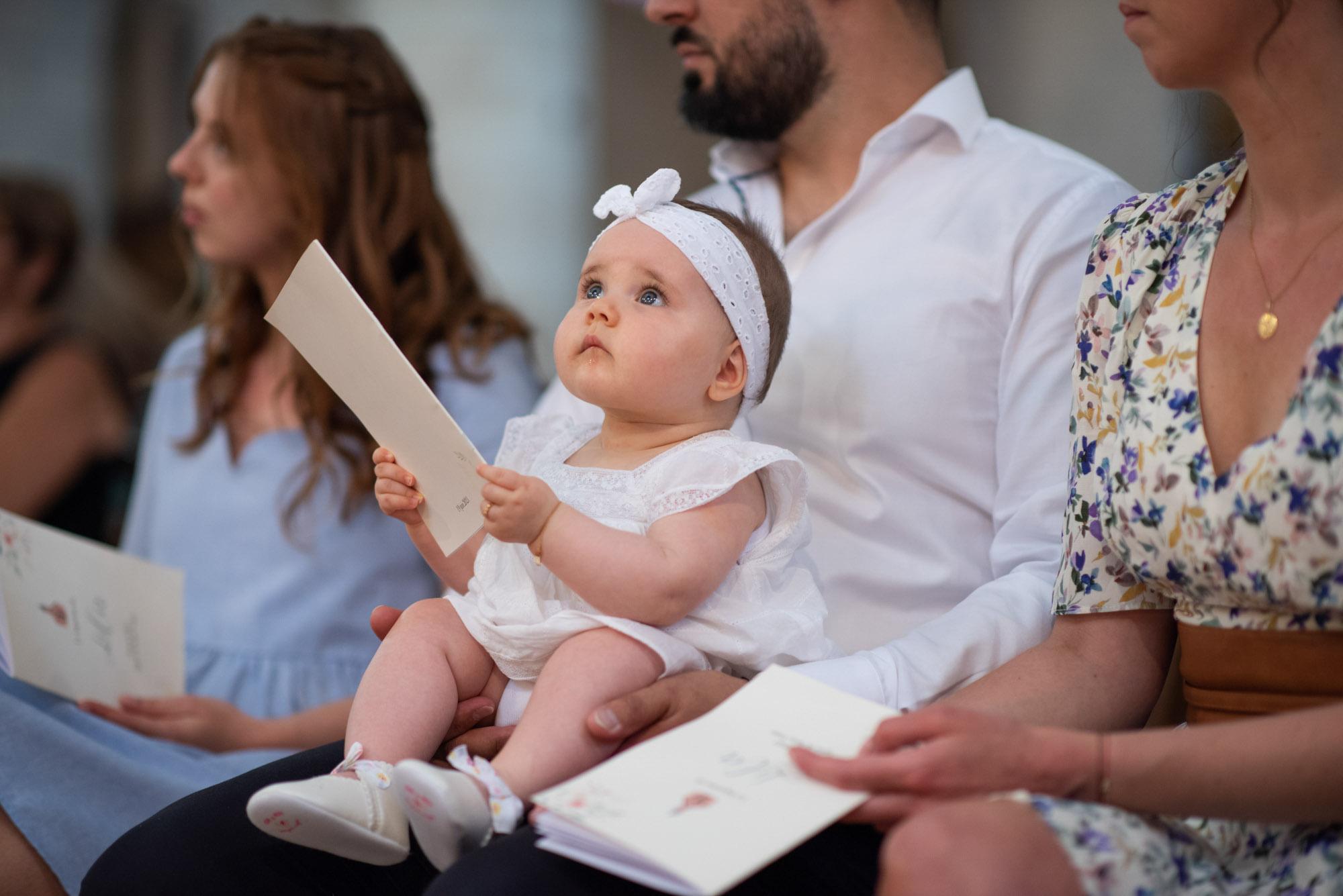 Bébé baptisé
