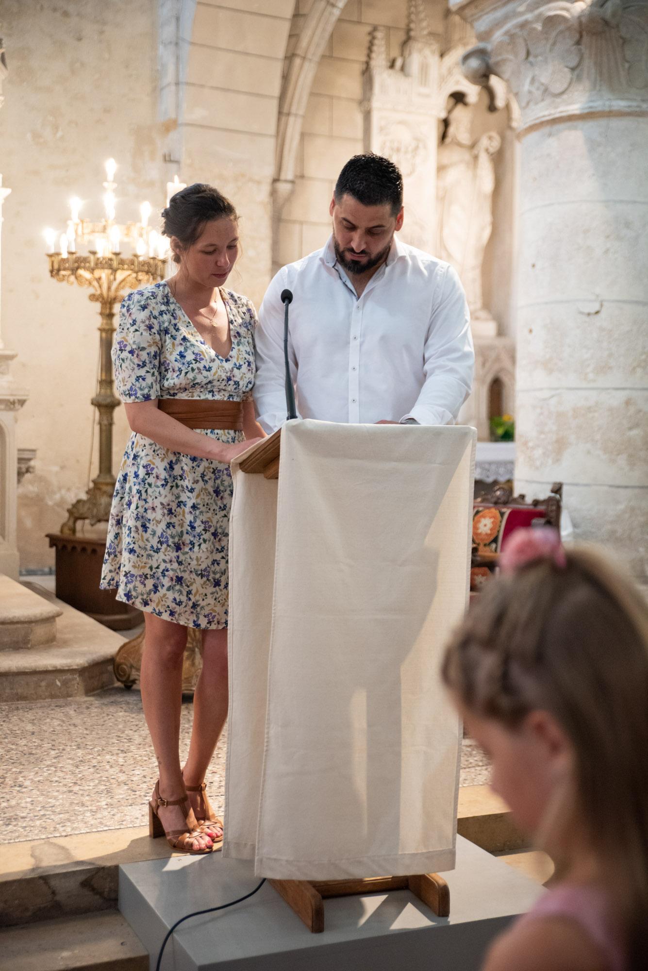 parents discours baptême